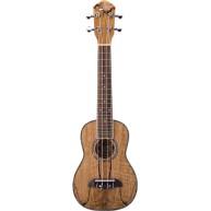 Oscar Schmidt Model OU17-R - Soprano Size Spalted Mango Ukulele - NEW