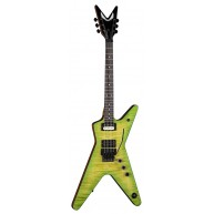 Dean Model DB DS Dimebag Darrell Dime Slime ML Electric Guitar w/Floyd Rose