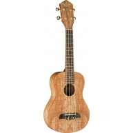 Oscar Schmidt Model OU8-R Spalted Maple Concert Size Ukulele 4 String - NEW