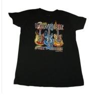 Fender Guitar Preteen Paint Style Short Sleeve T-Shirt Size Large/12 #91300