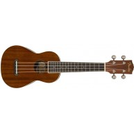 Fender California Coast Series Soprano Seaside Mahogany Ukulele Strings Bun