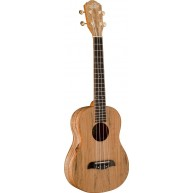 Oscar Schmidt OU8T-R Spalted Maple Tenor Ukulele with very cool Satin Finis