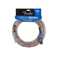 Fender California Series 50FT Speaker Cables 1/4 to Speakon - 14 AWG - NEW