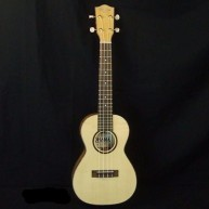 Ohana CK-70G Solid Spruce top With Flamed Maple Back and Sides Concert Ukul