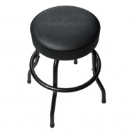 "Jackson Guitars 24"" Black Logo Bar Stool Vinyl Padding #2990500024"
