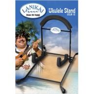 Lanikai  Model USLM-S1 Folding Metal Ukulele Stand - Folds Flat for Storage
