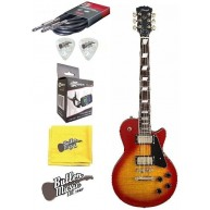 Stagg L500CS Cherry Sunburst LP Custom Electric Guitar w/Effin Tuner + More