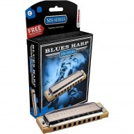 Hohner Blues Harp 10-Hole Diatonic Harmonica Key of C Major #532BX-C