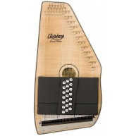 Oscar Schmidt  OS11021FNE Natural Flame 21 Chord Acoustic Electric Autoharp