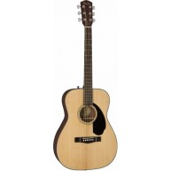 Fender CC-60S Natural Solid Spruce Top Acoustic Concert Size Guitar, NEW