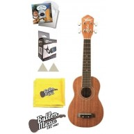 Oscar Schmidt Model OU12 Ukulele w/Lanikai Strings and Effin Tuner and More