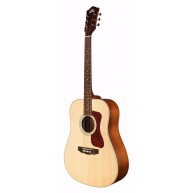 Guild Dreadnought Acoustic Electric D-240E Guitar with Gig Bag - Blem #CH13