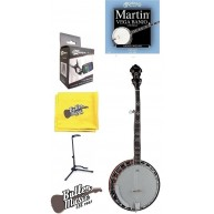 Dean Backwoods BW5 5 string Banjo with Mahogany Resonator stand tuner mor B