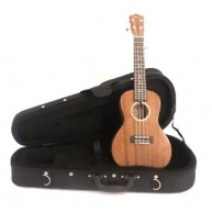 Lanikai Model MAS-C All Solid Mahogany Concert Ukulele with Hardshell case