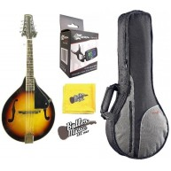 "Lucky Penny LPM 20 ""A"" Style Violinburst Finish Mandolin w/Gig bag + More!!"