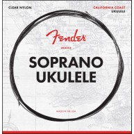 Fender California Coast Soprano Ukulele Strings - Made in the USA - #073009