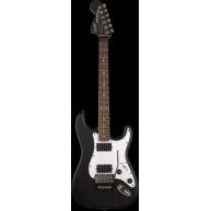 Squier by Fender Contemporary Active Stratocaster HH Flat Black #0320327510