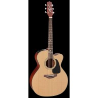 Takamine P1JC 6 String Cutaway Jumbo Electric Acoustic Guitar with Case - M