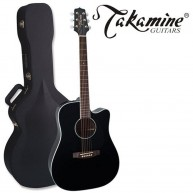 Takamine EF341SC 6 String Dreadnought Electric Acoustic Guitar with Case -