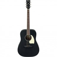 Ibanez PF14WK 6-String Acoustic Guitar - Weathered Black Open Pore in Flat