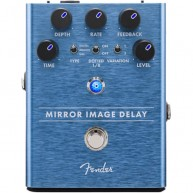 Genuine FENDER™ Mirror Image Delay Pedal , Solid Aluminum Stomp Box #023453