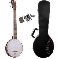 Gold Tone Baritone Scale Banjo Ukulele with Hardshell Case -  BUB Banjolele