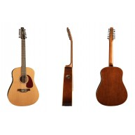 Seagull 029389 Coastline QIT 12-String Solid Cedar Top Acoustic Electric Gu