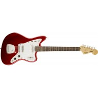 Fender Squier Vintage Modified Jaguar Electric Guitar in Candy Apple Red Fi