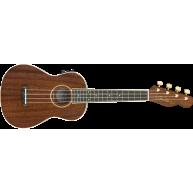 Fender Grace Vanderwaal Concert Acoustic Electric Ukulele w/3 Months Fender