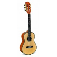 Lanikai SOT-6 Solid Spruce Top Legacy Collection 6 String Tenor Ukulele -Bl