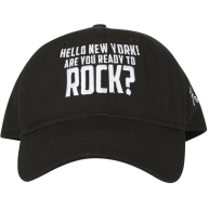 "Genuine Fender ""HELLO NEW YORK ARE YOU READY TO ROCK"" Ballcap Hat #91066510"