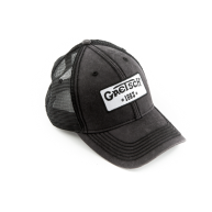 Gretsch Guitars Limited Black Mesh Trucker Hat with 1883 Logo Patch #922310