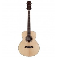 Alvarez LJ2 Little Jumbo Travel Size Acoustic Solid Top Guitar with Deluxe