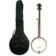 Gold Tone Model AC-1 Composite 5-String Open Back Folk Banjo with Gig Bag