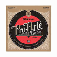 D'Addario EJ45 Pro-Arte Nylon Classical Guitar Strings Normal Tension Plain