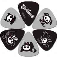 Perri's Officially Licensed Skelanimals Guitar Picks - Pack of 6 #LP-SA1