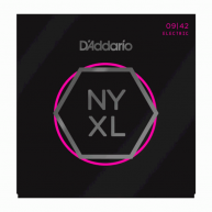 D'Addario NYXL0942 Nickel Plated Electric Guitar Strings, Extra Light 09-42