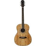 Oscar Schmidt Model OF2SM - Spalted Maple Folk Size Acoustic Guitar - NEW