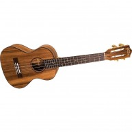 Lanikai SMP-T Tenor Size All Solid Monkey Pod Ukulele with Slotted Headstoc