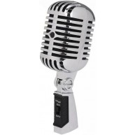 New Stagg SDMP40CR Vintage Style Dynamic Vocal Microphone Elvis Style