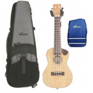 Journey UC770CE - Solid Top Meranti Electric Concert Ukulele w/Case + Rain