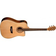 Washburn Harvest Series WD7SCE-O Acoustic Electric Guitar with Solid Spruce