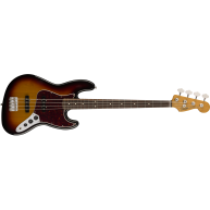 Fender 60's 4-String Jazz Bass Reissue in 3-Tone Sunburst w/Gig Bag - MIM