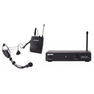 Gemini UHF-01HL F1-Single Channel Headset Wireless Microphone System - #MF1