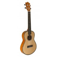 Lanikai The Legacy Collection SOTTU-C Concert Size Thin Bodied Ukulele, Nat