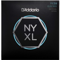 D'Addario NYXL1138PS Nickel Wound Pedal Steel Guitar Strings, Regular Light