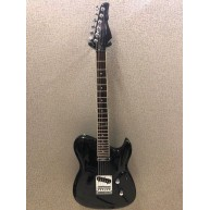 Switch Vibracell Synthetic Black Gloss T-Style Style Electric Guitar - #VC1