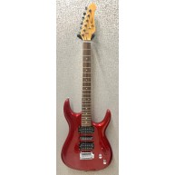 Jay Turser JT-SLIMMER Double Cutaway Metallic Red Electric Guitar - NOS