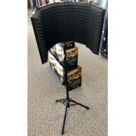 Auray RF-5P-B Microphone Reflection Filter with Matching Tripod Stand