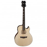 Dean Dave Mustaine MAKO GN Acoustic Electric Flame Top Guitar, Gloss Natura